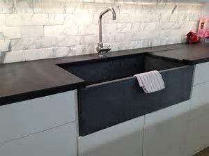 Image result for soapstone countertop in modern kitchen