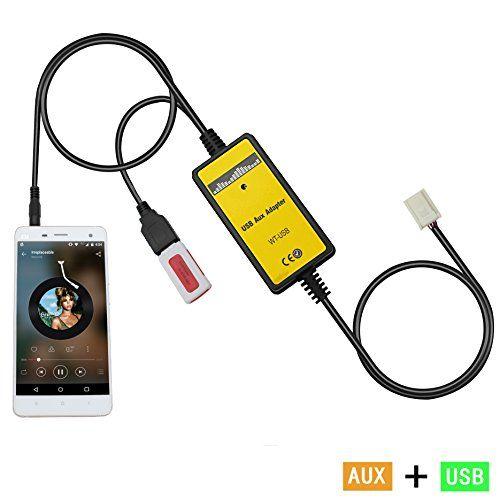 Auxillary Adapter Yomikoo Car Radio Mp3 Wma Usb Music