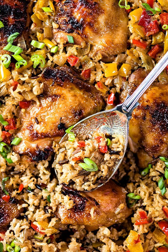 One-pot Chinese chicken and rice - an easy and flavourful recipe that's going to become your new family favourite!