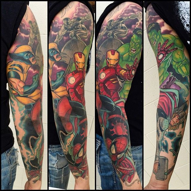 25+ Best Ideas About Avengers Tattoo On Pinterest