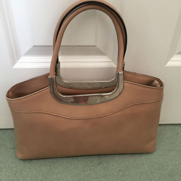 Handbags one in Sage Green and on in a Beige #Italian