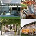 Gazébo et abri soleil : des idées pour jardin avec piscine