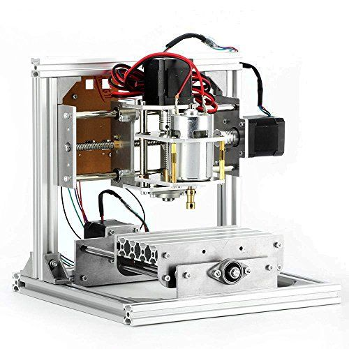 Konmison 3 Axis CNC DIY Router Machine Engraving Machine PCB Milling Machine CNC Wood Carving Mini Engraving Router
