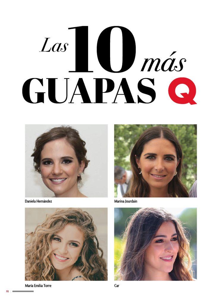 TOP DE LAS 10 MÁS GUAPAS  Conoce a las 10 quetaleras más guapas