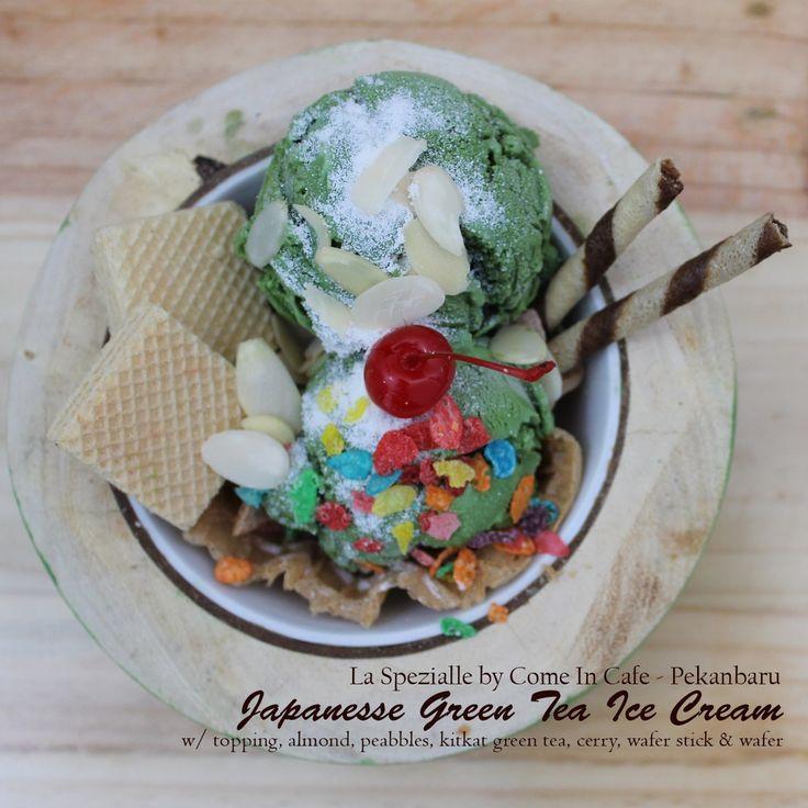 Ice Cream Japanesse Jepang Green Tea Macha Malang Pekanbaru Coffeeshop