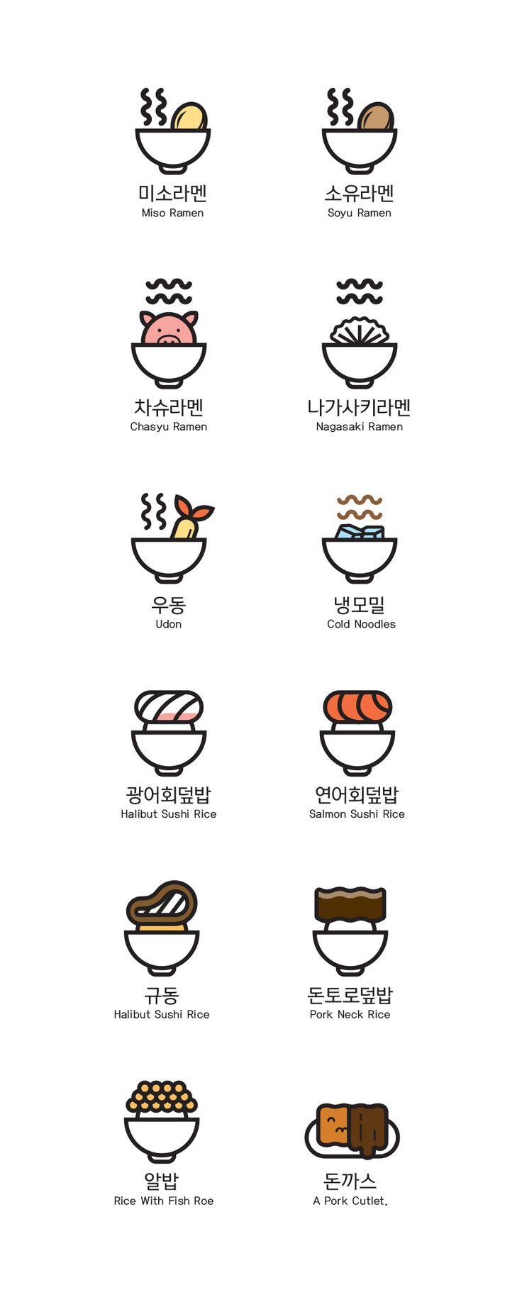 JAPAN FOOD (Ramen & Rice) 2017 on Behance