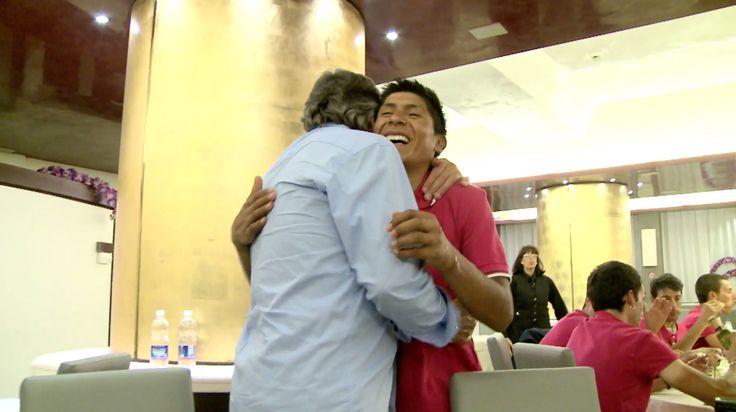 El día más feliz de Nairo Quintana y Movistar Team