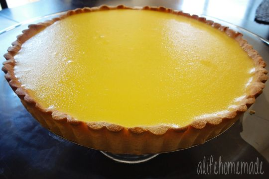 Lemon Curd Tart | Sweets and Treats | Pinterest