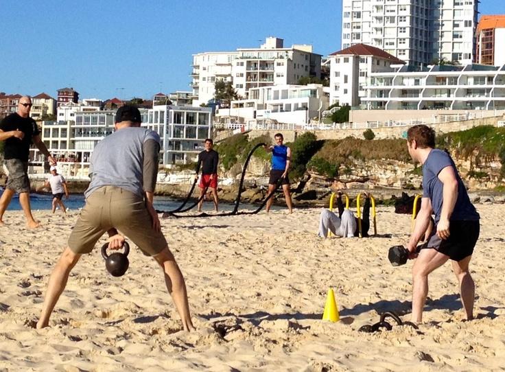 Tough Mudder Boot Camp On Bondi Beach - Sydney