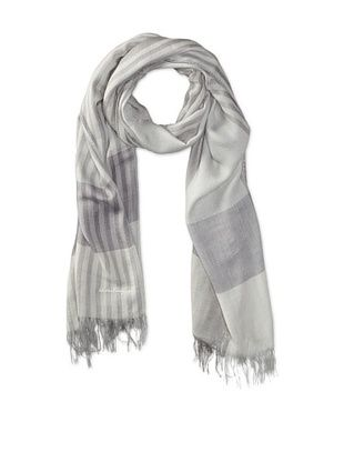 35% OFF Salvatore Ferragamo Men's Relax Scarf (Light Grey)