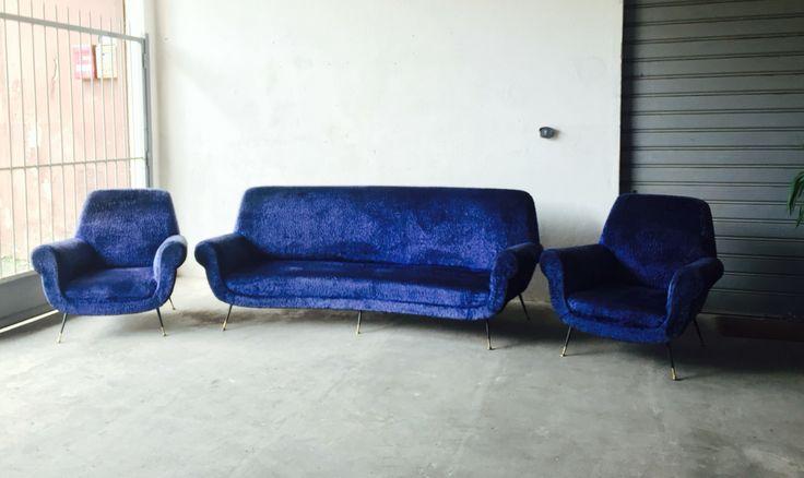 room set by Gigi Radice for Minotti