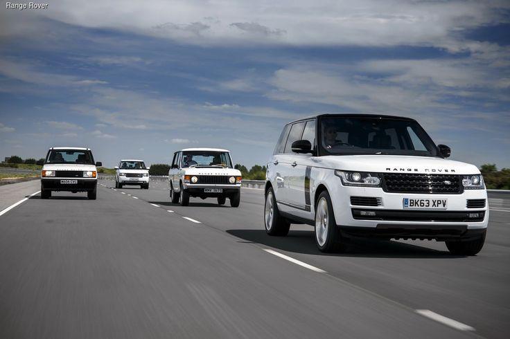 Первый в мире люксовый внедорожник Range Rover этим летом отмечает свой 45-й день рождения. Сегодня выпускается уже четвертое поколение модели, дебютировавшее в 2012 году.