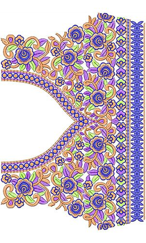 Blouse Embroidery Design
