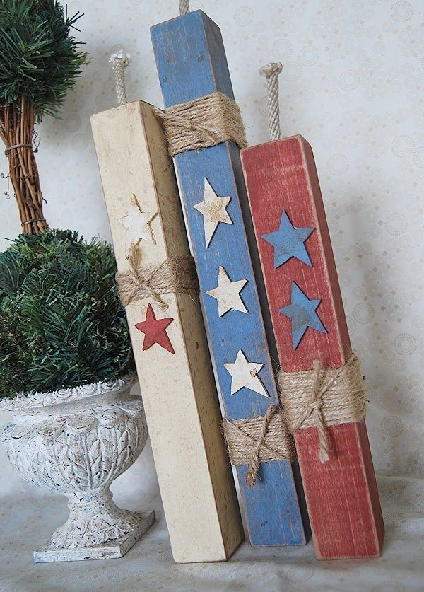 Folksy Firecrackers For Home Pinterest Wood Crafts Diy And