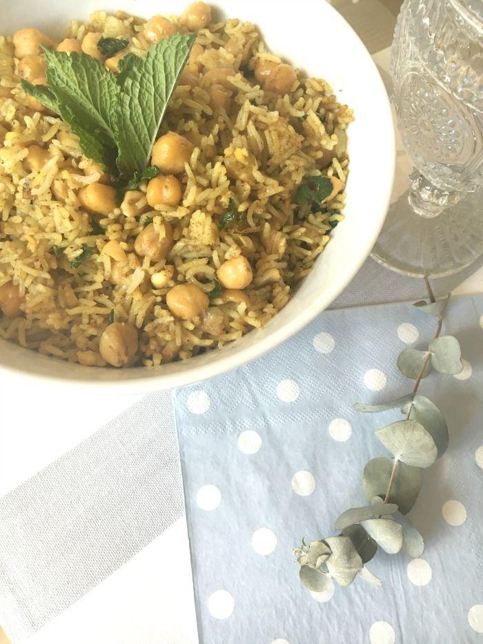 y tan flamenca!: Finde frugal: mix de garbanzos y arroz Basmati al estilo oriental
