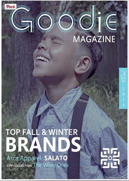 Arca Apparel on the cover of LA based Goodie Magazine www.ArcaApparel.com @ArcaApparel