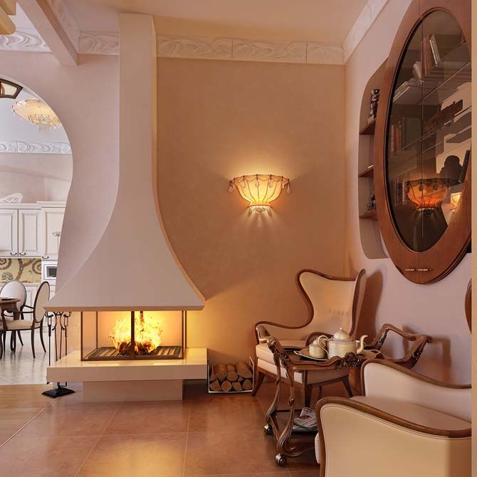 37 Fascinating Luxury Living Rooms Designs: 37 Best Fantastic Fireplaces Images On Pinterest