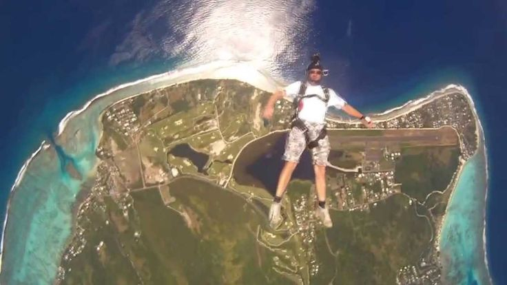 Tahiti Skydive, best of, 1st half of 2013