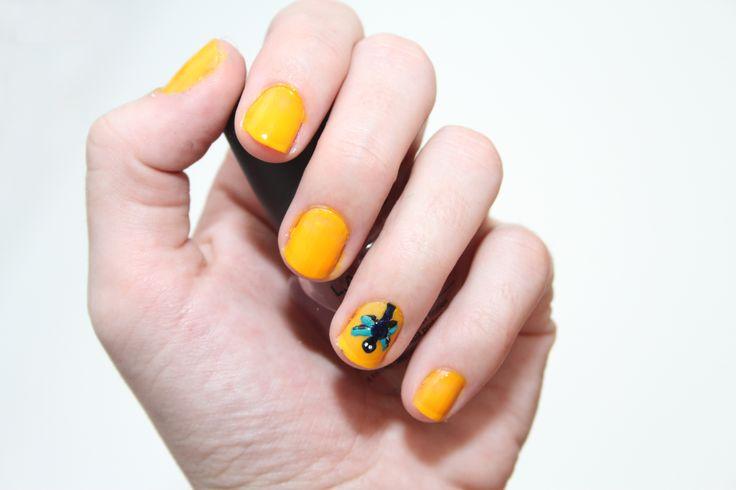 How to Make Dragonfly Nail Art -- via wikiHow.com