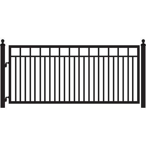 Best E Z Gate La Jolla 12 Single Gate Kit By Mighty Mule In 400 x 300