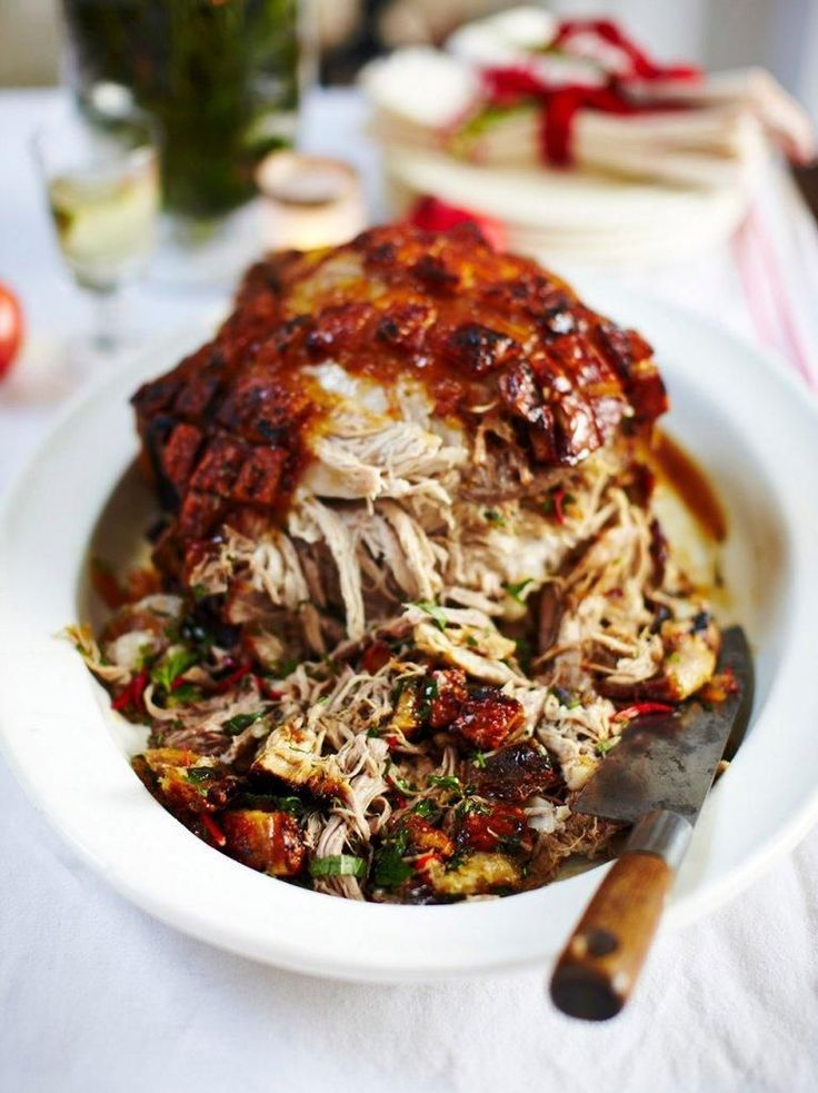 Slow-roasted marmalade pork #Jamie'scookingtips