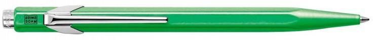 Шариковая ручка автоматическая Caran D'Ache Office Popline синий M 849.730