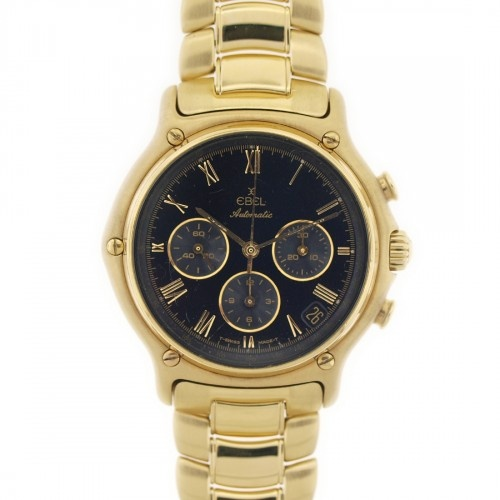 17 best images about watch me men tag heuer ebel vintage 18k yellow gold 1911 chronograph mens automatic watch