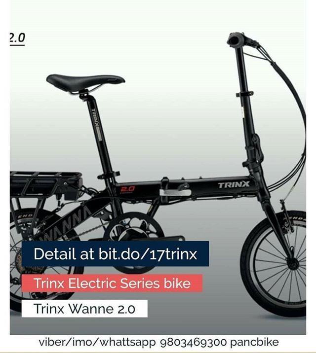 Electric L Pancbike L Trinx Trinx Electric Folding Bike Catagory Hybrid For More Option Detail And Availability W Folding Electric Bike Bike Folding Bike