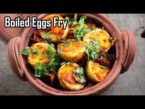 Boiled Eggs Fry Recipe- Simple & spicy Egg fry - Foodvedam