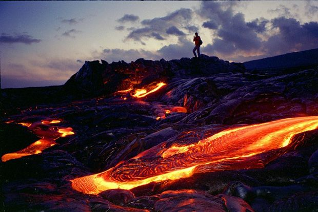 Hawaii Volcanoes National Park.    Amazing!