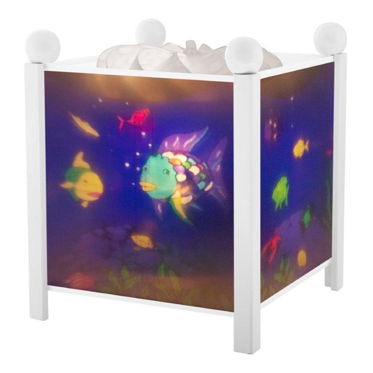 Superb TROUSSELIER Magische Laterne Regenbogenfisch wei Trousselier Schlummerlicht Nachtlicht Stimmungslampe Kinderzimmer