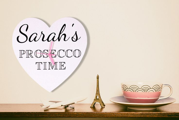 Personalised Typography Wall Clock deal in Art Keep time in check with a personalised typography wall clock.   Choose from 13 unique designs, featuring Roman numerals, funny quotes and more!  Including heart-shaped faces and an antique clock face.   Add your own personal message.   Printed in fine typography font. BUY NOW for just £9.99 Check more at http://nationaldeal.co.uk/personalised-typography-wall-clock-deal-in-art/