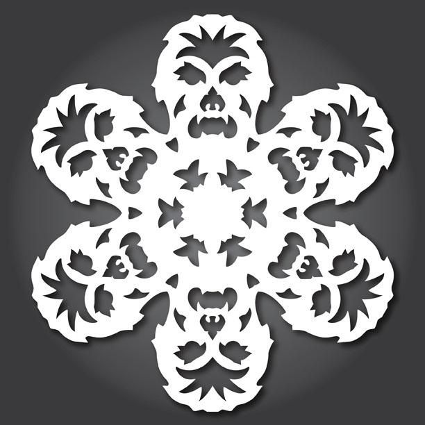 24 Free Paper Snowflake Templates—Star Wars Style! « Christmas Ideas