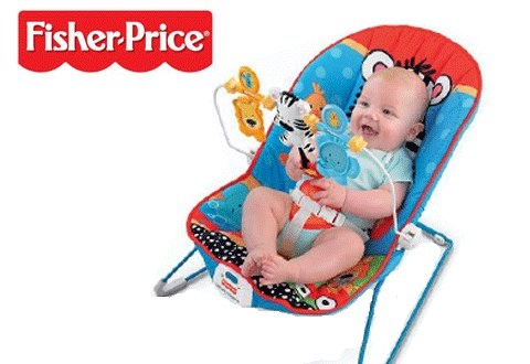 The Fisher Price Discover & Grow Baby Bouncer features an elephant and lion toy paddle to encourage your baby to reach for the stars and bat them, making the colourful toys spin while the zebra smiles down on your baby.    Playtime over? Well then just remove the toy bar and switch on the calming vibrations, sure to put baby right to sleep!    Now at 41% off the RRP: http://www.babysteals.com.au/steal/174/fisher-price-discover-and-grow-baby-bouncer