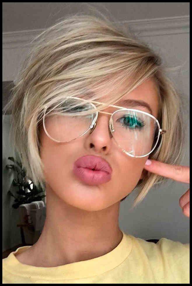 Kurzhaarfrisuren Damen Rundes Gesicht 2019 Aktuelle Frisuren