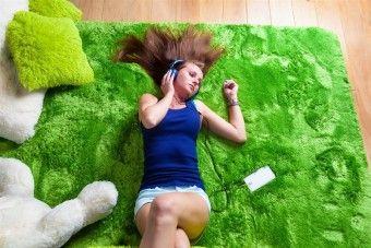 Dětský plyšový koberec LOUKA