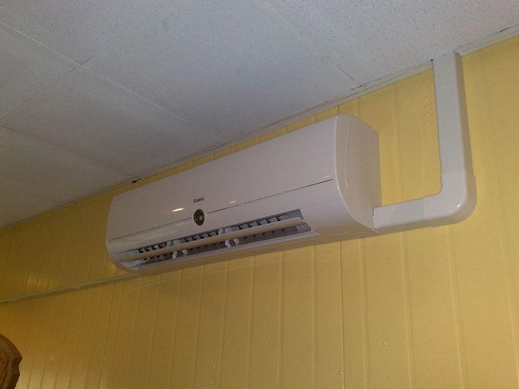 Montaż systemu klimatyzacji Galanz w piekarni