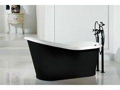 Vasca da bagno in ghisa OLD LAVANDE - BLEU PROVENCE