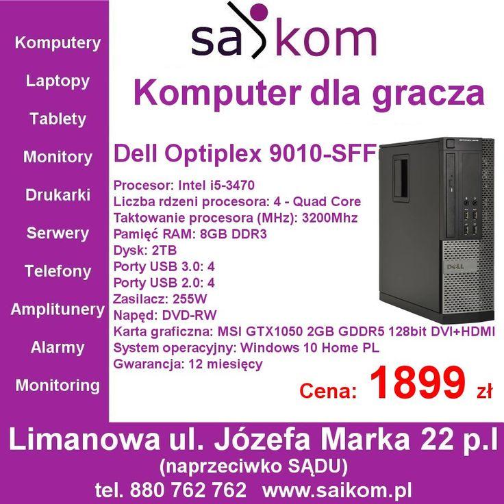 Komputer dostępny od ręki w sklepie SAiKOM www.saikom.pl