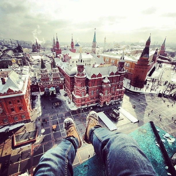 The Red Square, Moscow I 30 Incredible Rooftops You Should Be Lounging On Right Now