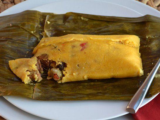Venezuelan Andean Hallacas - buy tamale dough or make with Masa Harina