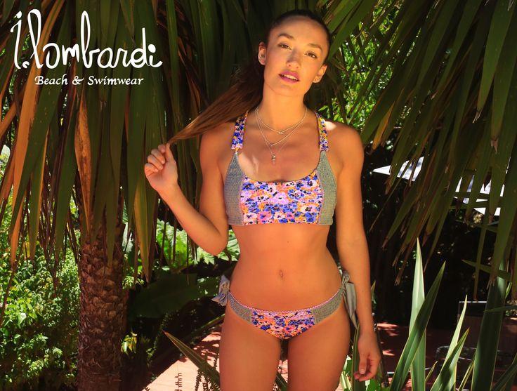 Un look diferente cada dia en @parquelasnalkas visítanos en www.ilombardi.cl  #ilombardi #swimwear #summertime #summer #new_model #bikini #playasconestilo #style #brand