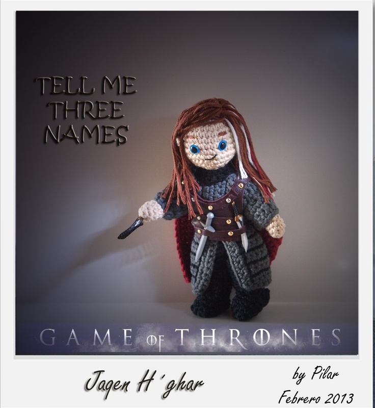 110 best Mi Game of Thrones #amigurumis images on Pinterest ...