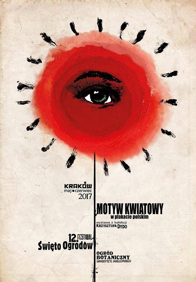 Ryszard Kaja, Motyw kwiatowy w polskim plakacie, 2017