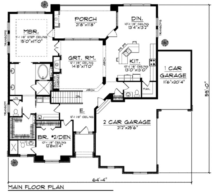 25 best ideas about Craftsman style home plans on