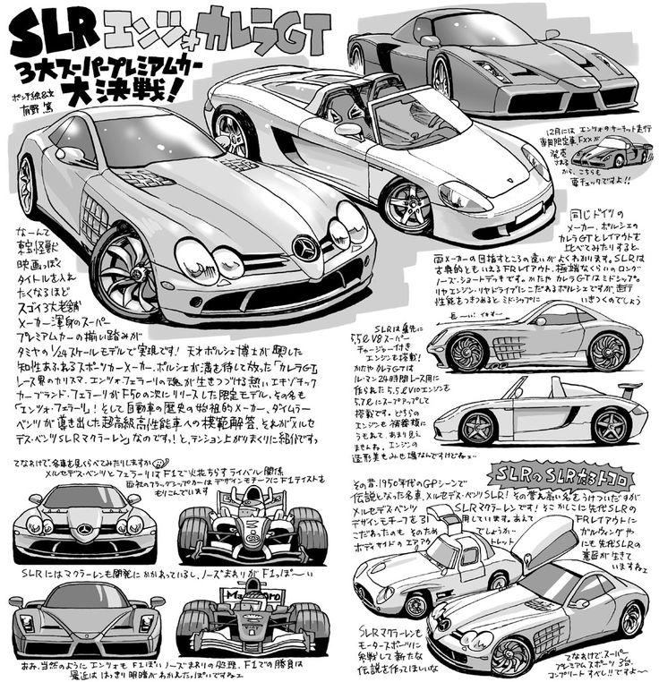 SLR・エンツォ・カレラGT 3大スーパープレミアムカー大決戦!
