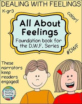 A children's book about feelings, child education, life lessons and character education. Introduction to the #DWF series #EmotionalLiteracy $