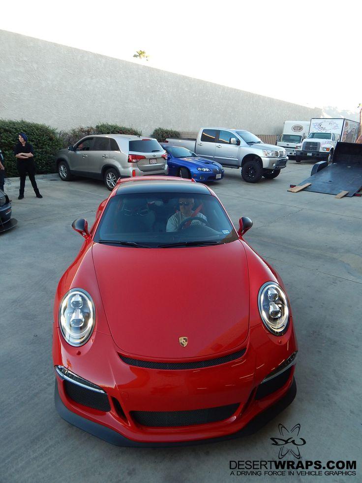 Awesome Porsche! DesertWraps.com installs car wraps, truck wraps, trailer wraps, RV wraps and more. Call 760-935-3600 #Porsche