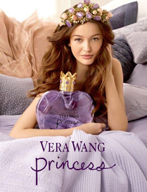 Kristina Romanova is the face of Vera Wang Princess