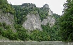 Dunajec river rafting, National Park pieniny, Slovakia